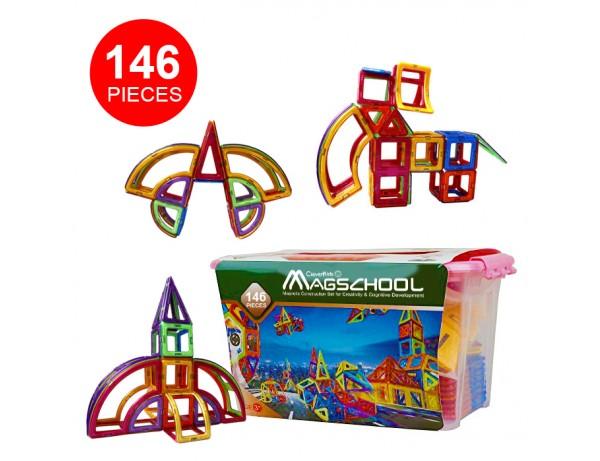 MagSchool - 146 pieces
