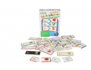 Wooden Alphabet Learning Puzzles