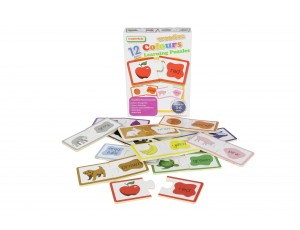 Wooden Colors Learning Puzzles