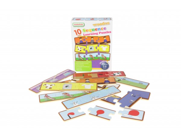 Wooden Sequencing Puzzles