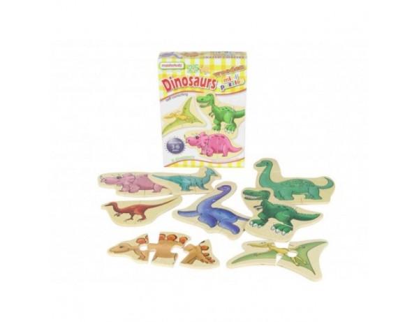 Dinosaurs Mini Puzzles