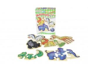 Animals Mini Puzzles