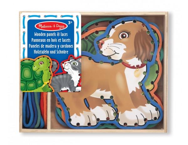 Wooden Panels & Laces - Pets
