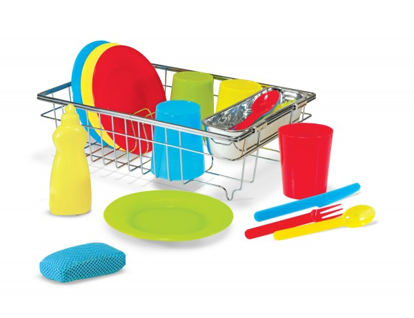 Lets Play House - Wash and Dry Dish Set