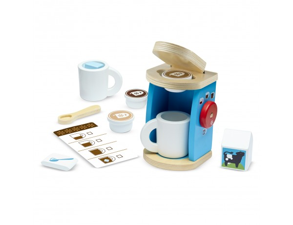 Wooden Brew and Serve Coffee Set