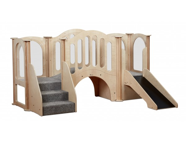 Hide 'n' Slide Kinder Gym