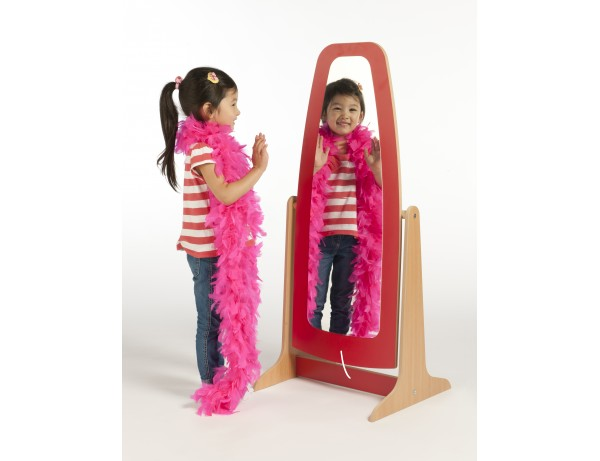 Galaxy Dressing Up Mirror - Red
