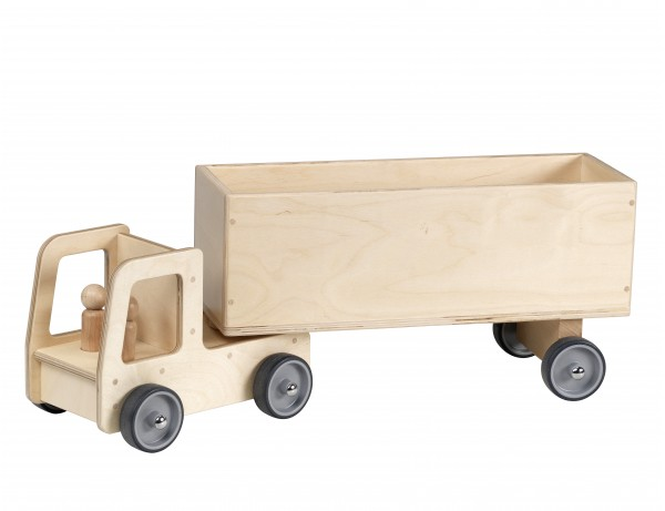 Giant Lorry and Box Trailer