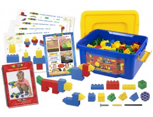 Hi-Qube Kindergarten 150 Set with Guide Book