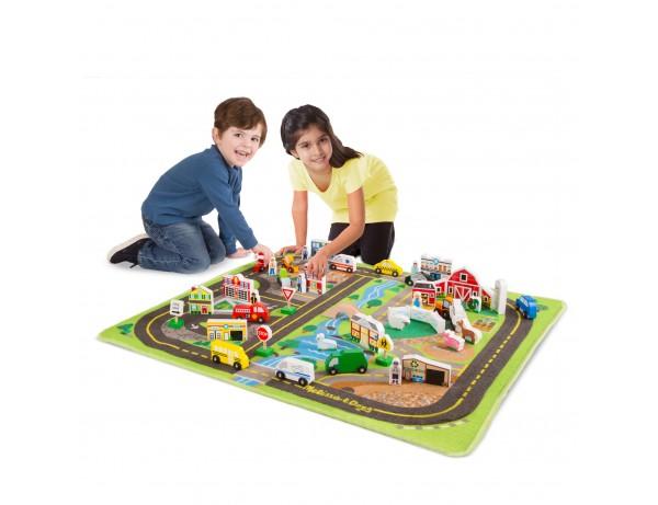 Deluxe road rug Play Set