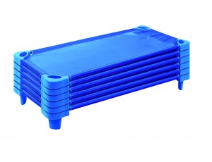 Kiddy Cots / Stackable Bed Blue Set of 6