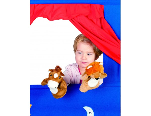 Animals Hand Puppets Set of 5