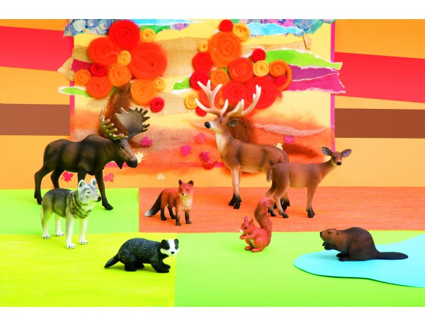 Forest animals (8 pcs.)