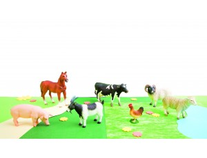 Farm animals (7 pcs.)