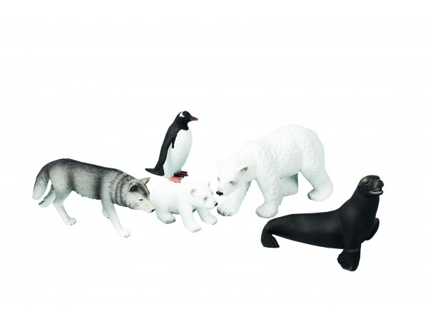 Polar Animals (5 pcs)