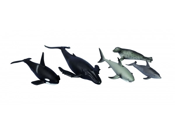 Sea Animals (5 pcs)