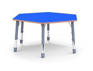 Afterschool Classic Hexagonal Table - Blue