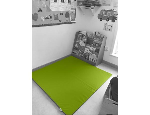 Play Mat Green 140x140x2 cm