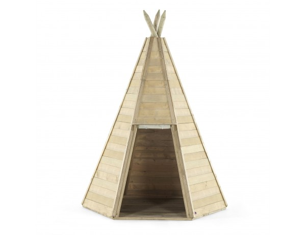 Wooden Outdoor Play Teepee