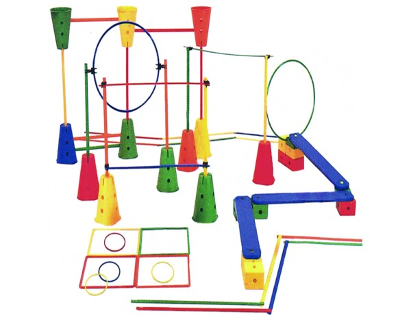 Super Sized Obstacle course (114 Pieces) (3+)