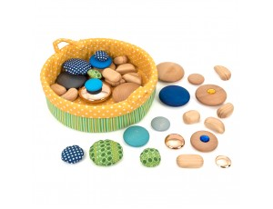 Sensory Pebble Basket 0M+