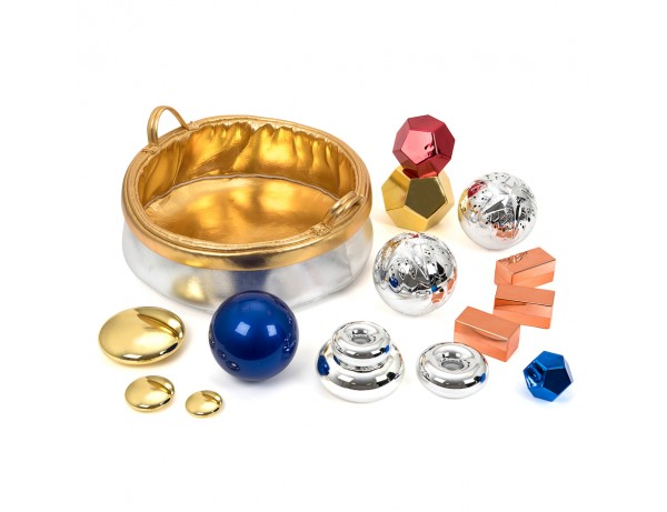 Sensory Metallic Basket