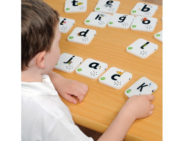Talking Alphabet Recordable Cards