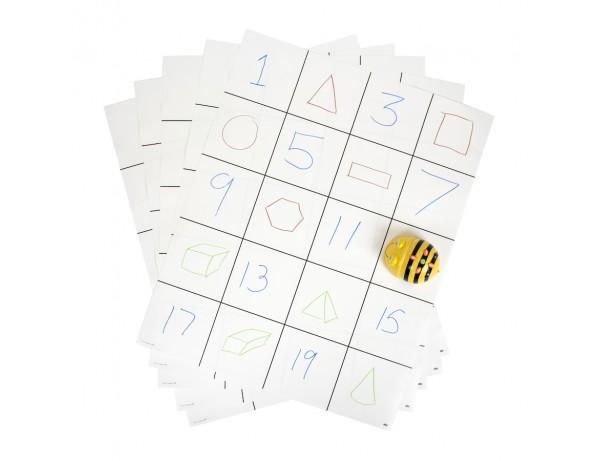 Blank Bee-Bot® Grid Mats