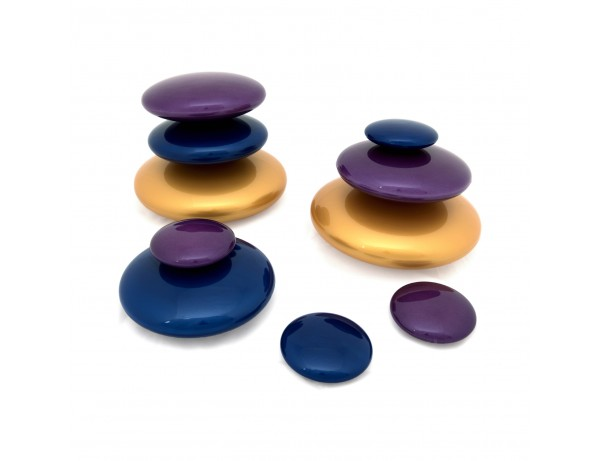 Metallic Pebble Collection