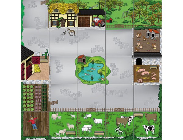Bee-Bot® and Blue-Bot® Farmyard Mat