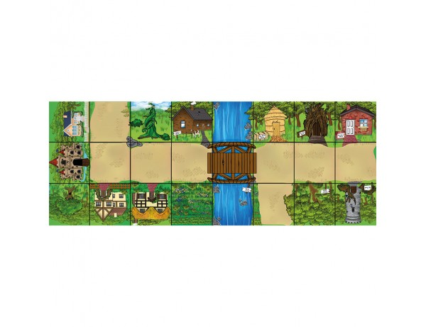 Bee-Bot® and Blue-Bot® Fairytale Mat
