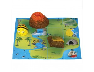 Bee-Bot® and Blue-Bot® Treasure Island Mat