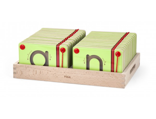 Magnetic Writing Board Lowercase Set (3y+)