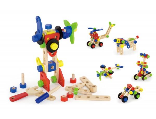 Construction Block Set - 68 pcs (3y+)