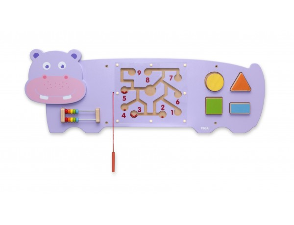 Wall Toy-Hippo (18m+)