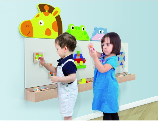 Magnetic & Dry Erase Board on the Wall