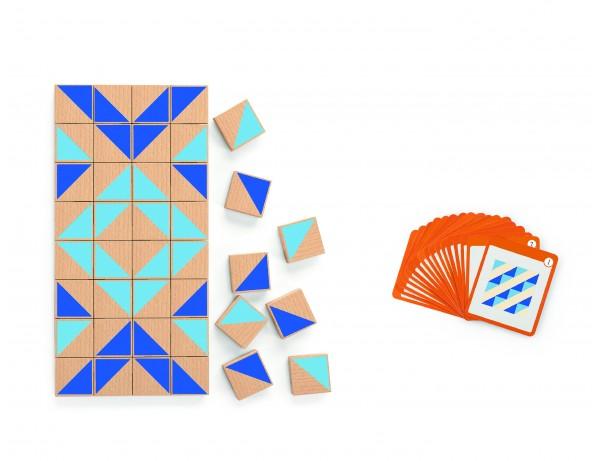 Magnetic Visual Block  40pcs Set (3+)