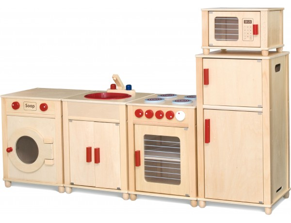 Cleverkids Natural Kitchen Set (3Y+)