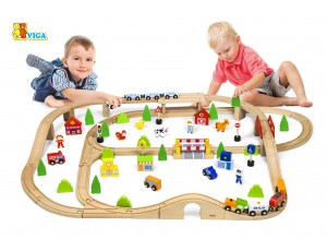 90pcs train set (3y+)