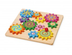 Puzzle & Spinning Gears (18m+)