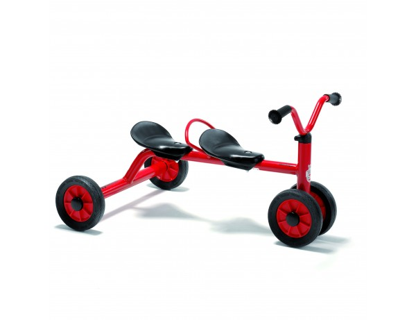 Pushbike for 2 (1-3 yrs)