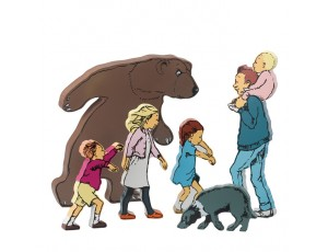 Bear Hunt Wooden Character Set