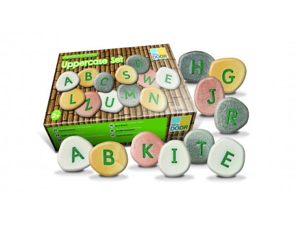 Alphabet Pebbles - Upper Case