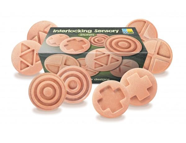 Interlocking Sensory Stones