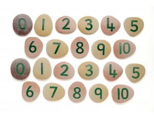 Jumbo Pebbles - Numbers 1 - 10