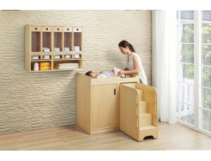 Wooden Nappy Changer