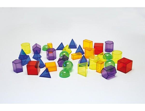 Translucent Geometric Shapes - Pk36