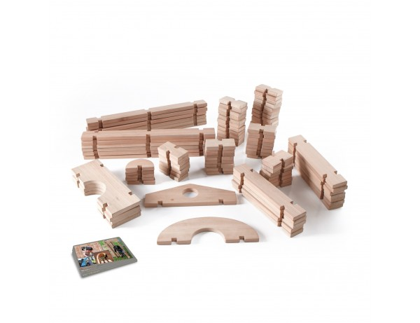 Notch Blocks Set 89 Pc