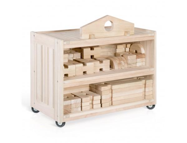 Notch Blocks Storage Cart