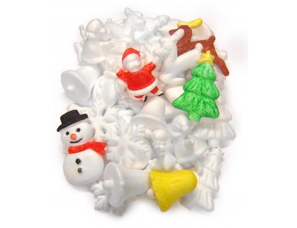 Polystyrene Christmas Set